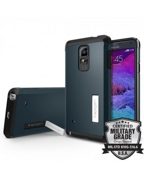 Genuine Spigen Tough Armor Heavy Duty Military Grade Shockproof Case Cover For Samsung Galaxy Note 4