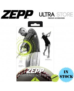 Genuine Zepp Baseball-Softball 2 Swing Tracking Analyzer Bundle Extra Bat Mount