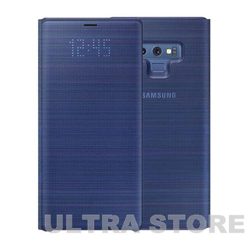 GENUINE-Original-Samsung-Galaxy-Note-9-LED-VIEW-Cover-Card-Slot-Wallet-Case